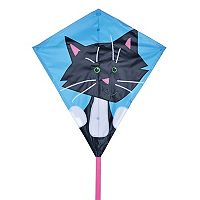 Premier Kites Bold Innovations 30-in. Black Cat Diamond Kite