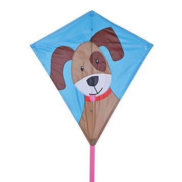 Premier Kites Bold Innovations 30-in. Puppy Diamond Kite
