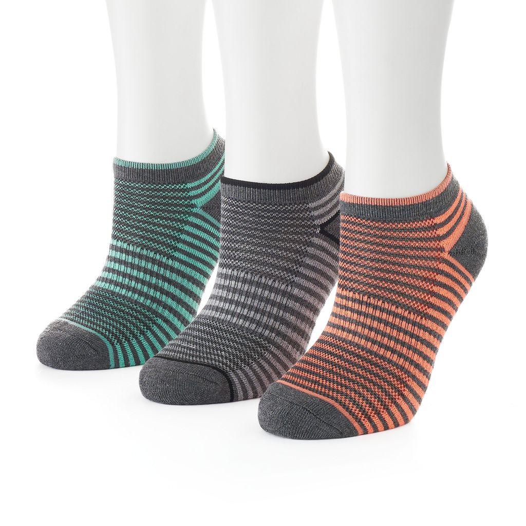 Women's SO® Terry No-Show Socks