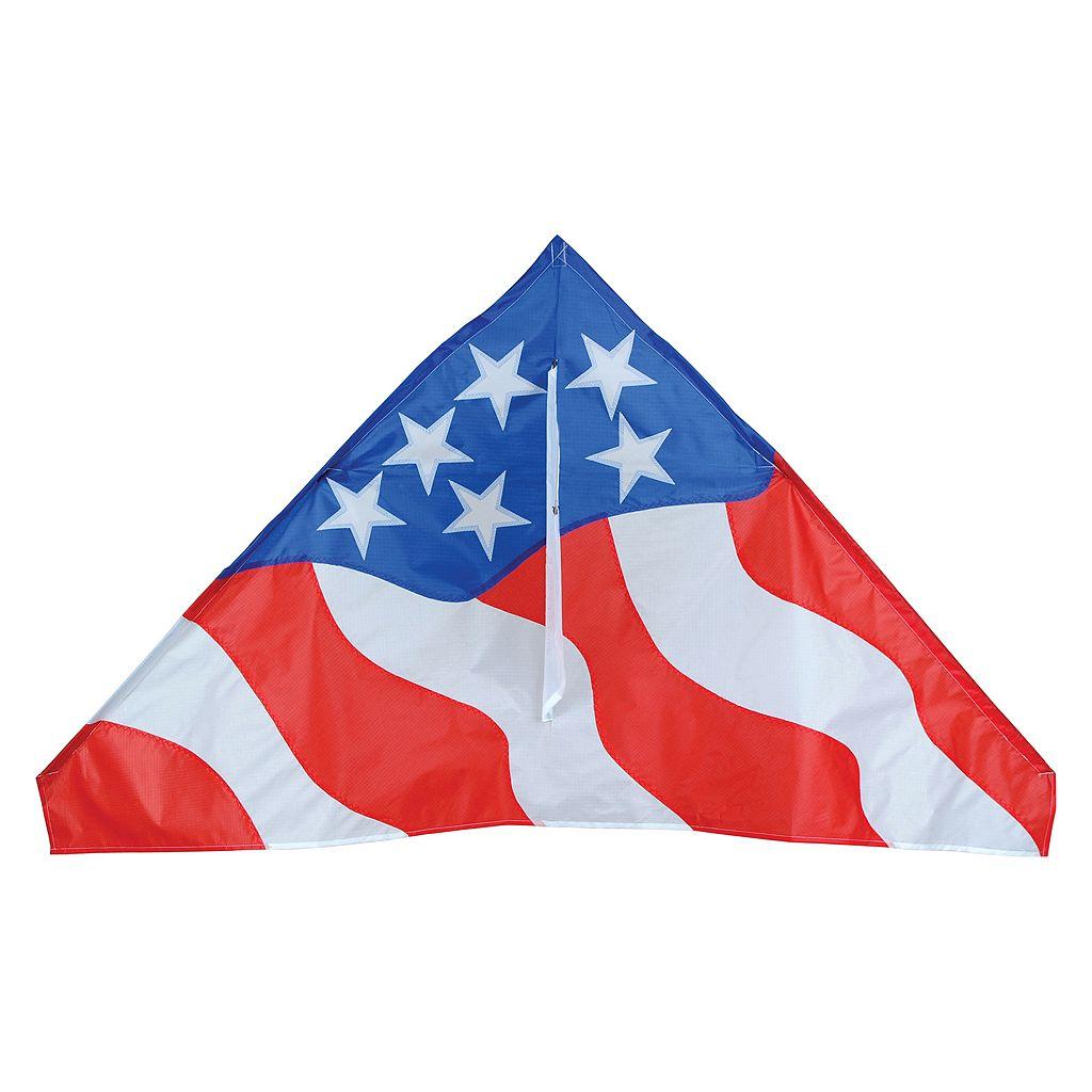 Premier Kites Bold Innovations 56-in. Patriotic Delta Kite