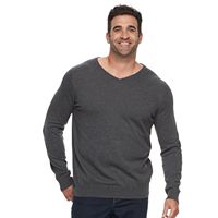 Big & Tall Croft & Barrow® True Comfort Classic-Fit Easy-Care V-Neck Sweater