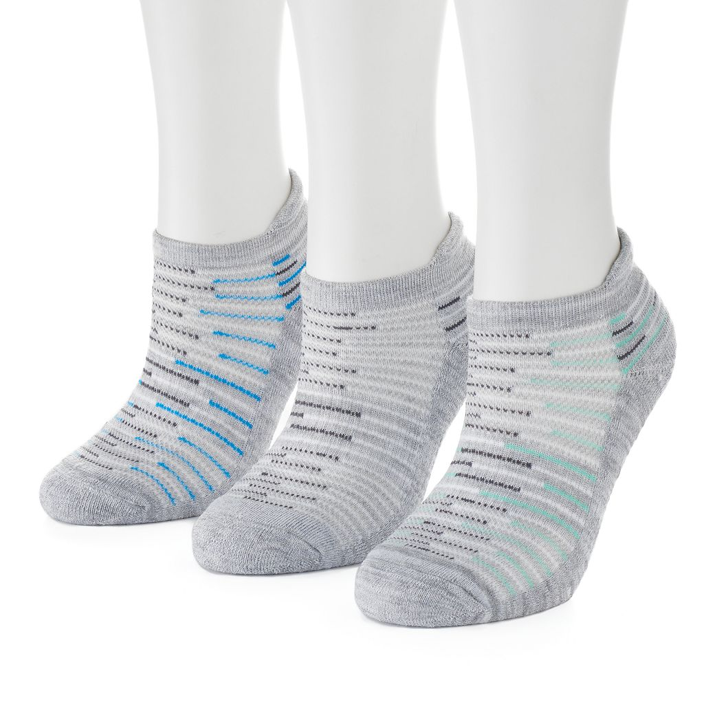 Women's SO® Marled Terry No-Show Socks