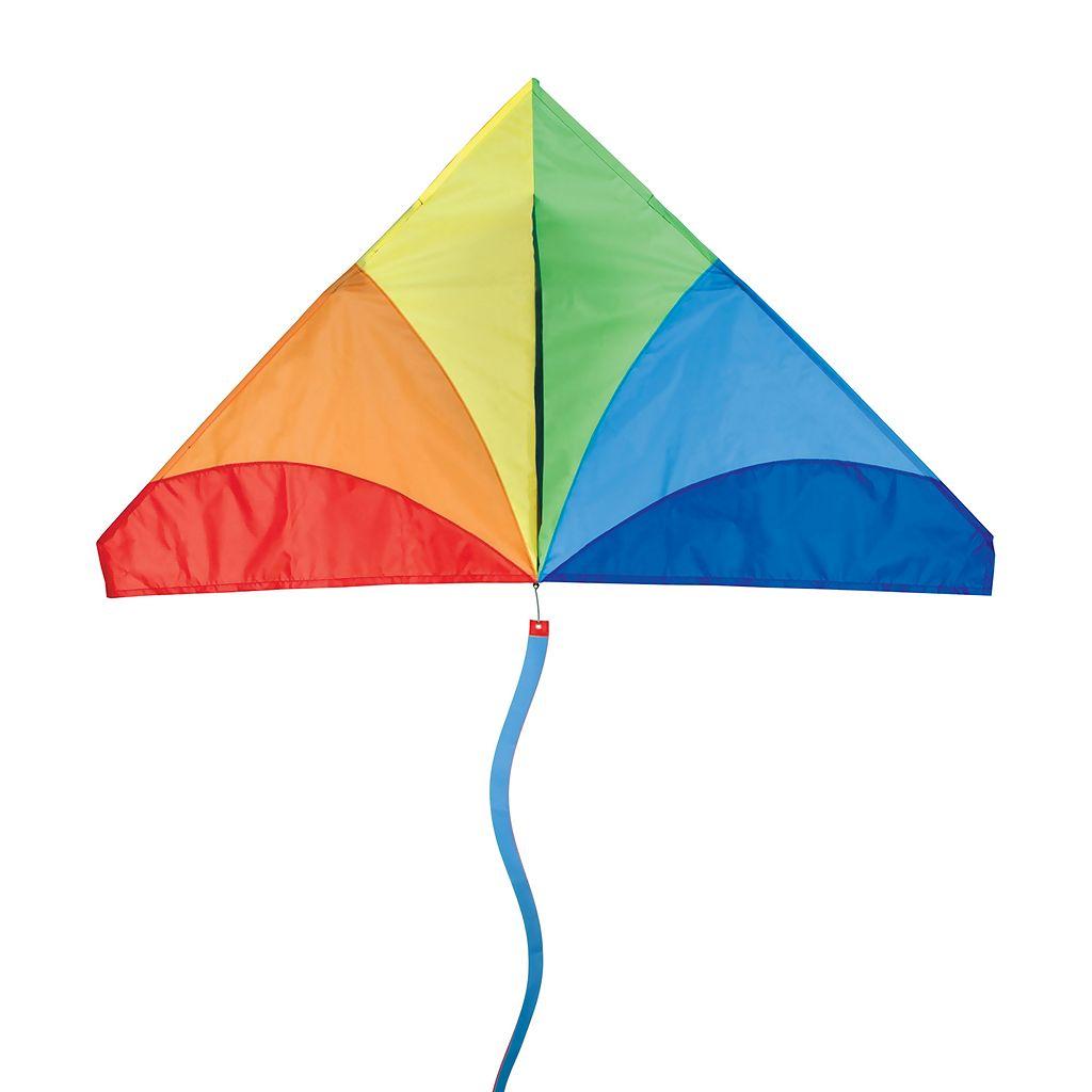 Premier Kites Bold Innovations 56-in. Traditional Rainbow Delta Kite