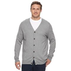Big & Tall Croft & Barrow® True Comfort Classic-Fit Easy-Care Cardigan Sweater