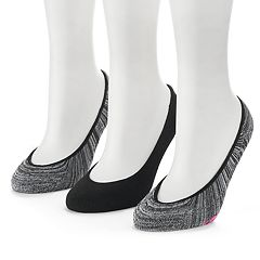 Women's SO® Marled Super No-Show Liner Socks