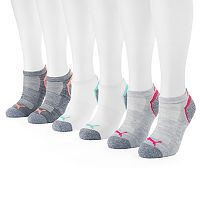 Women's PUMA 6-pk. No-Show Socks