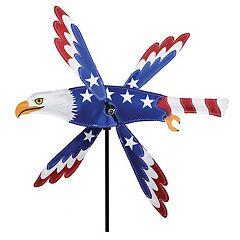 Premier Kites Premier Designs Patriotic Eagle 18 in Whirligig