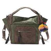 Rosetti Benita Side-Zip Satchel