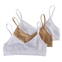 Girls 7-16 Maidenform 3-pk. Seamless Cropped Bras