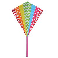 Premier Kites Premier Designs Hip Rainbow 30-in. Diamond Kite