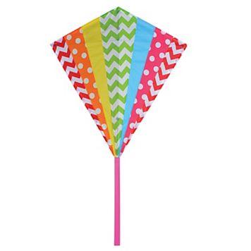 Premier Kites Premier Designs Hip Rainbow 30-in. Diamond Kite