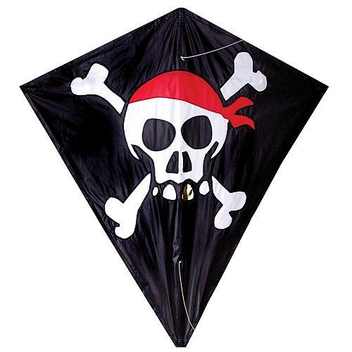 Premier Kites Premier Designs Skull & Crossbones 30-in. Diamond Kite