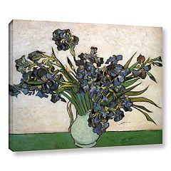 ArtWall Irises Canvas Wall Art by Vincent Van Gogh