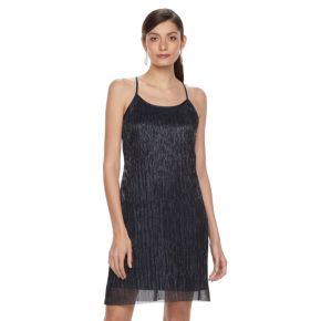 Women's Hope & Harlow Sleeveless Halter Strap Keyhole Dress