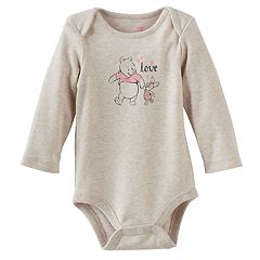 Disney's Winnie The Pooh Baby Girl Pooh & Piglet 'Love' Graphic Bodysuit by Jumping Beans®
