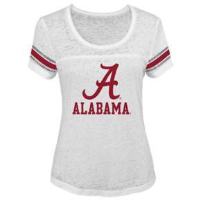 Juniors' Alabama Crimson Tide White Out Tee
