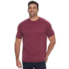 Big & Tall Croft & Barrow® Classic-Fit Slubbed Outdoor Performance Crewneck Tee