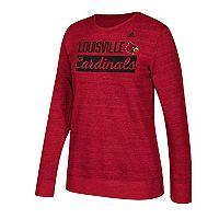 Women's adidas Louisville Cardinals Script Tee
