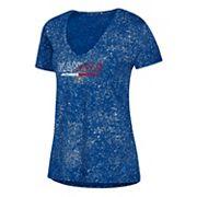 Women's adidas Kansas Jayhawks Logo Stack Tee