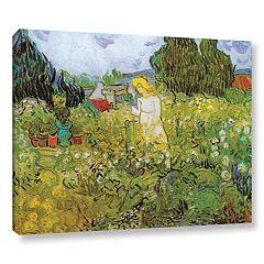 ArtWall Marguerite Gachet In The Garden Canvas Wall Art by Vincent Van Gogh