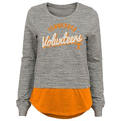 Juniors' Tennessee Volunteers Mock-Layer Tee