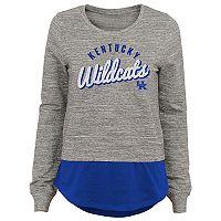 Juniors' Kentucky Wildcats Mock-Layer Tee