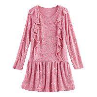 Girls 4-12 Jumping Beans® Cascading Ruffle Dress