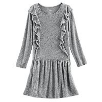 Girls 4-12 SONOMA Goods for Life™ Cascading Ruffle Dress