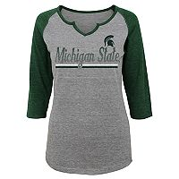 Juniors' Michigan State Spartans Over the Line Tee