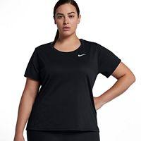 Plus Size Nike Dry Training Short Sleeve Tee