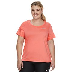 Plus Size Nike Dry Training Short Sleeve Tee
