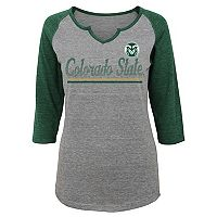 Women's Colorado State Rams Over the Line Tee