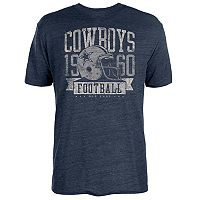 Big & Tall Dallas Cowboys Distressed Tee