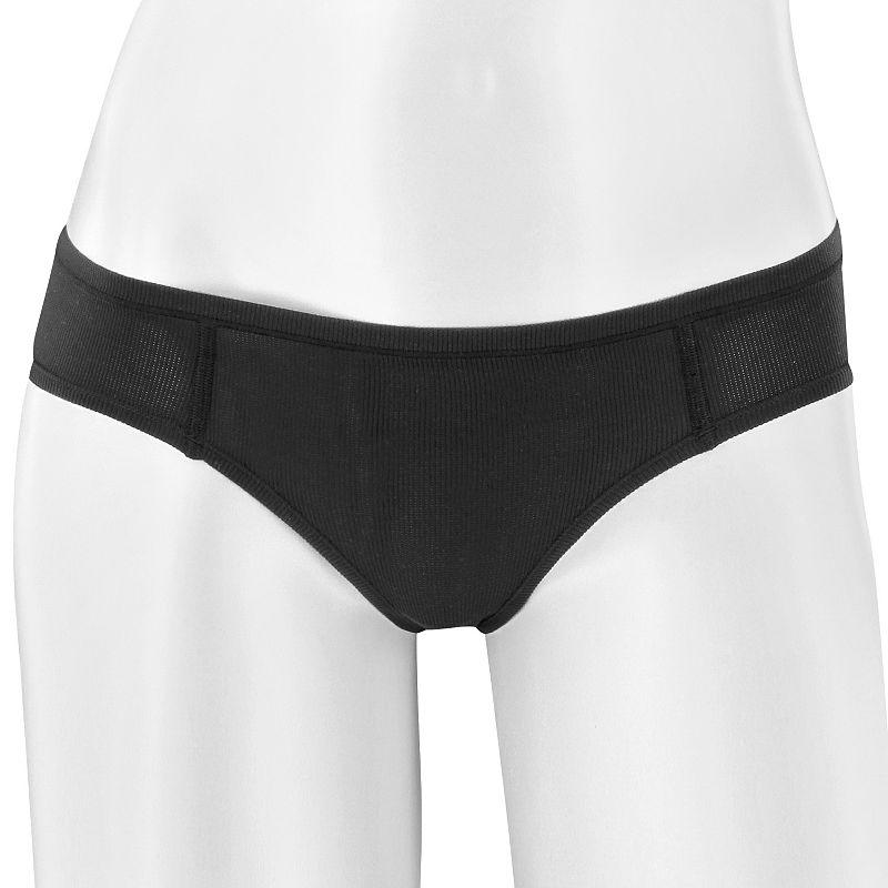 d361dd5ab349 Women's adidas Superlite Underwear Single Thong Panty (Black ...