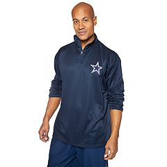 Big & Tall Dallas Cowboys 1/2-Zip Pullover