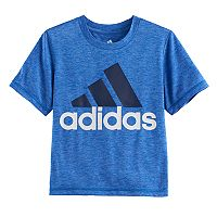 Boys 4-7x adidas Heathered Logo Graphic Tee