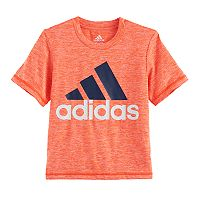 Boys 4-7x adidas Heathered Logo Graphic Tee