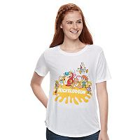 Juniors' Nickelodeon Classic Cartoon Graphic Tee