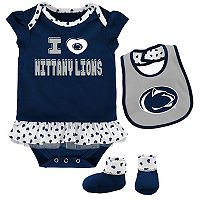 Baby Penn State Nittany Lions Team Love Bodysuit Set