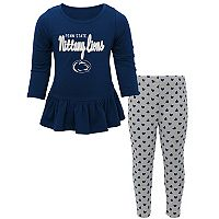 Baby Penn State Nittany Lions Tiny Trainer Tee & Leggings Set