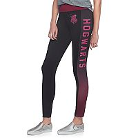 Juniors' Harry Potter Hogwarts Crest Graphic Leggings