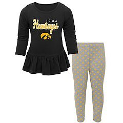 Baby Iowa Hawkeyes Tiny Trainer Tee & Leggings Set