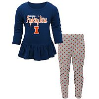 Baby Illinois Fighting Illini Tiny Trainer Tee & Leggings Set