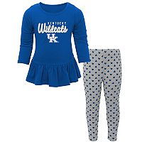 Baby Kentucky Wildcats Tiny Trainer Tee & Leggings Set