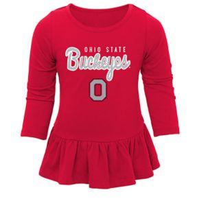 Baby Ohio State Buckeyes Tiny Trainer Tee & Leggings Set