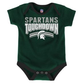 Baby Michigan State Spartans Playmaker 3-Pack Bodysuit Set
