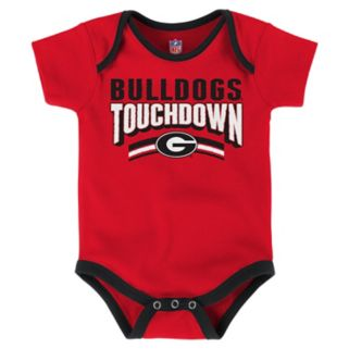 Baby Georgia Bulldogs Playmaker 3-Pack Bodysuit Set