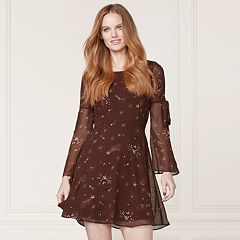 LC Lauren Conrad Runway Collection Floral Fit & Flare Dress - Women's