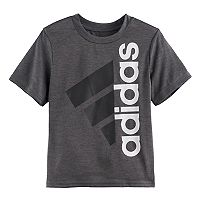 Boys 4-7x adidas Heathered Side Logo Graphic Tee