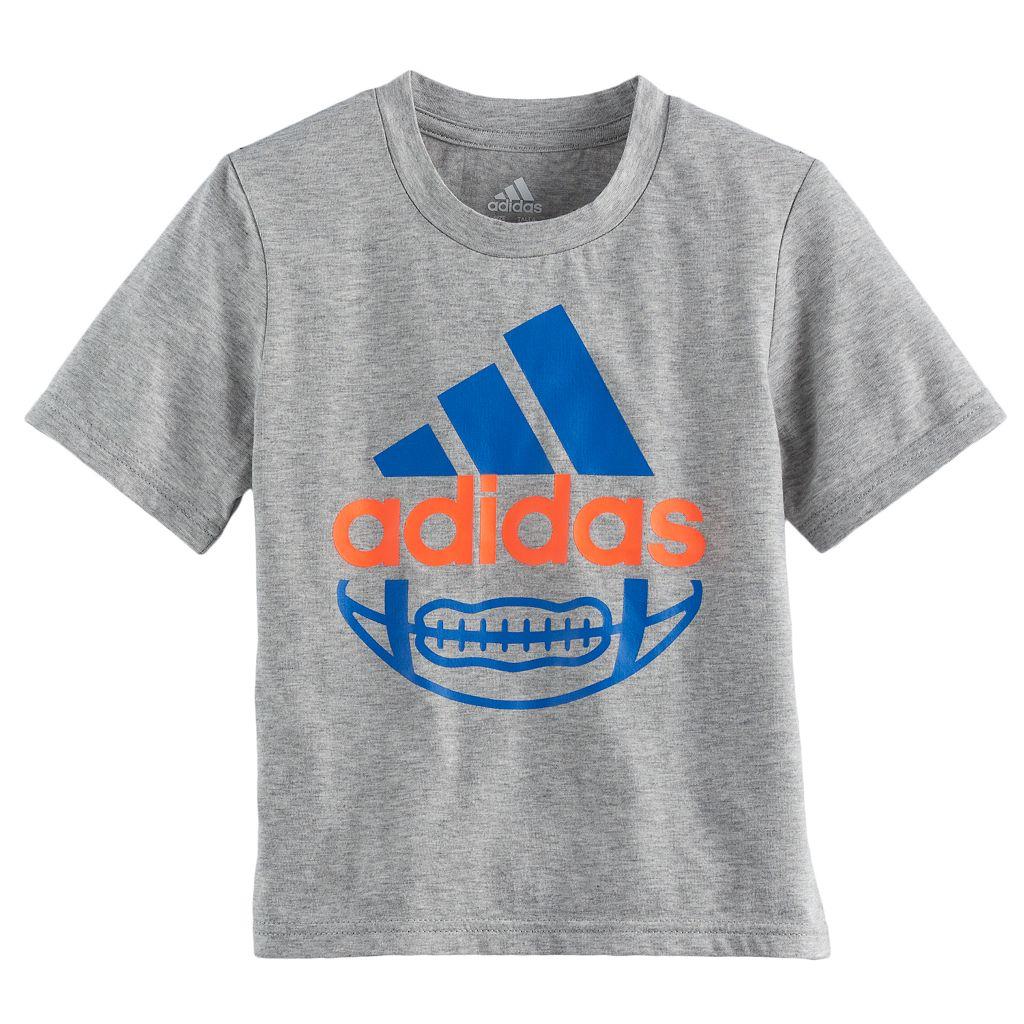 Boys 4-7x adidas Football Graphic Tee